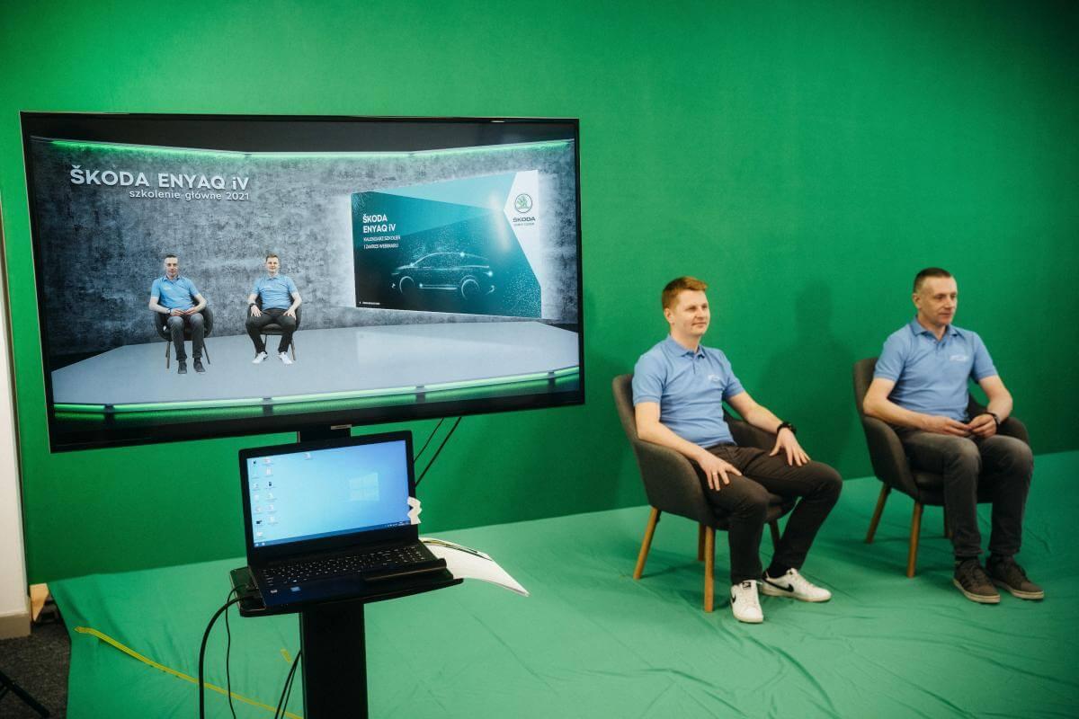 Studio green screen Poznań